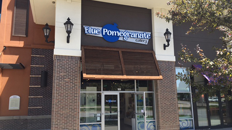Retailer Spotlight: Blue Pomegranate Gallery